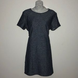 New French Terry T-shirt style dress